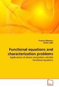 Functional Equations and Characterization Problems