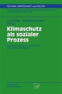 Klimaschutz Als Sozialer Prozess