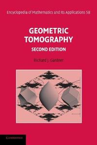 Geometric Tomography