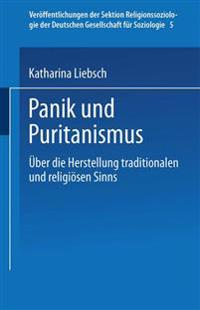 Panik Und Puritanismus