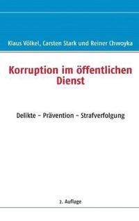 Korruption Im Offentlichen Dienst