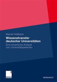 Wissenstransfer Deutscher Universit ten