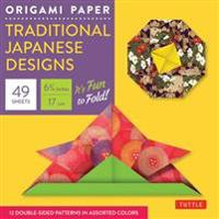 Origami Paper Traditional Japanese Designs