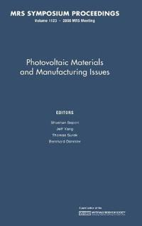 Photovoltaic Materials and Manufacturing Issues
