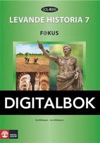 SOL 4000 Levande historia 7 Fokus Elevbok Digital - Kaj Hildingson pdf epub
