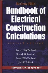 McGraw-Hill's Handbook of Electrical Construction Calculations