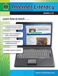 Internet Literacy, Grades 6-8