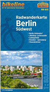 Bikeline Radwanderkarte Berlin Südwest 1 : 60 000