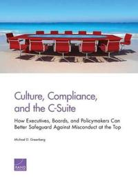 Culture, Compliance, and the C-Suite