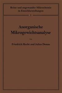 Anorganische Mikrogewichtsanalyse