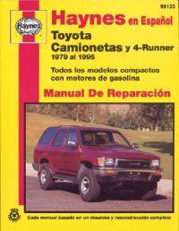 Camionetas Toyota & 4-Runner Manual de Reparacion