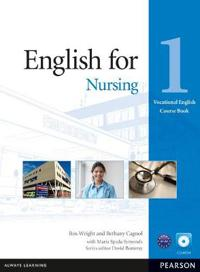 English for Nursing Level 1 Coursebook and CD-ROM Pack