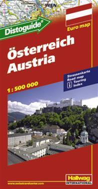 Rand McNally Hallwag Osterreich Austria