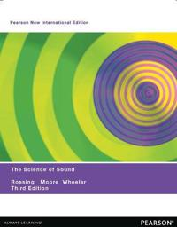 Science of Sound: Pearson New International Edition