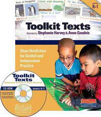 Toolkit Texts, Grades PreK-1: Short Nonfiction for Guided and Independent Practice [With CDROM]