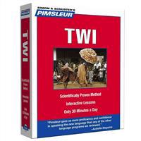 Pimsleur Twi Level 1 CD: Learn to Speak and Understand Twi with Pimsleur Language Programs
