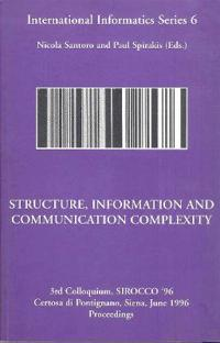 Structure, Information and Communication Complexity