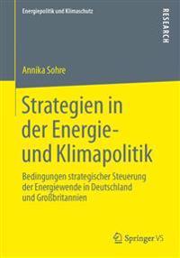 Strategien in der Energie- und Klimapolitik