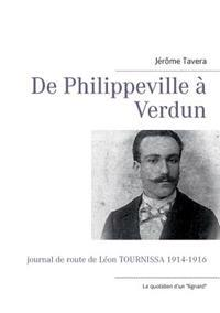de Philippeville a Verdun