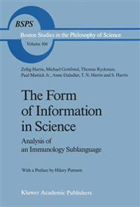 The Form of Information in Science