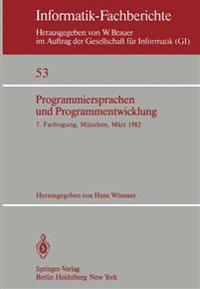Programmiersprachen und Programmentwicklung