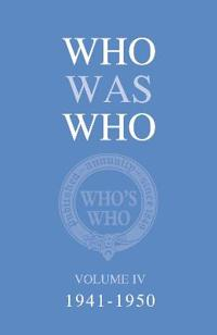 Who Was Who, 1941-1950