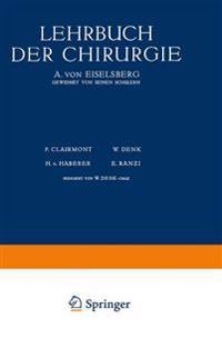 Lehrbuch Der Chirurgie