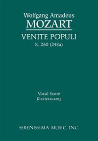 Venite Populi, K. 260 (248a) - Vocal Score