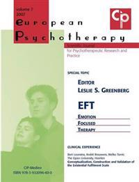 European Psychotherapy 2007
