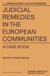 Judicial Remedies in the European Communities