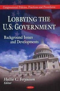 Lobbying the U.S. Government