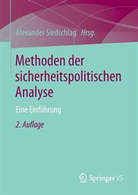 Methoden Der Sicherheitspolitischen Analyse