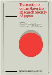 Transactions of the Materials Research Society of Japan