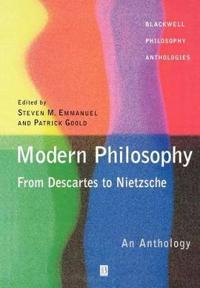 Modern Philosophy From-- Descartes to Nietzsche