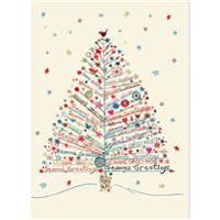 Season's Greetings Tree Large Boxed Holiday Cards