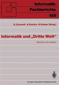Informatik Und Dritte Welt