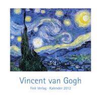 Vincent van Gogh Postkarten-Einsteckkalender 2012