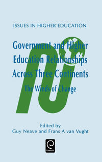 Government and Higher Education Relationships Across Three Continents