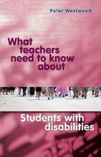 What Teachers Need to Know About Students with Disabilities