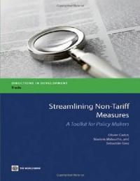 Streamlining Non-Tariff Measures