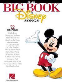 The Big Book of Disney Songs: Cello