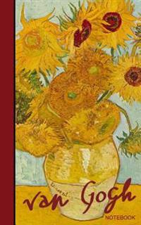 Van Gogh Notebook: Sunflowers and Irises (Cuaderno / Portable)