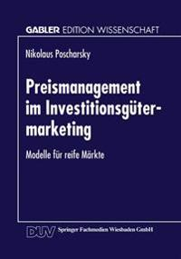 Preismanagement Im Investitionsgütermarketing