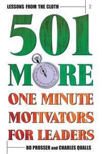 Lessons from the Cloth 2: 501 More One Minute Motivators for Leaders