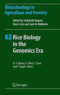 Rice Biology in the Genomics Era