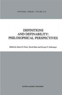 Definitions and Definability