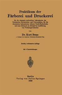 Praktikum Der F rberei Und Druckerei