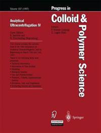 Analytical Ultracentrifugation IV