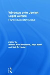 Windows Onto Jewish Legal Culture
