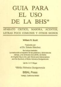 Guia Para El Use De LA Bhs Aparato Critico Masora Acentos Letras
